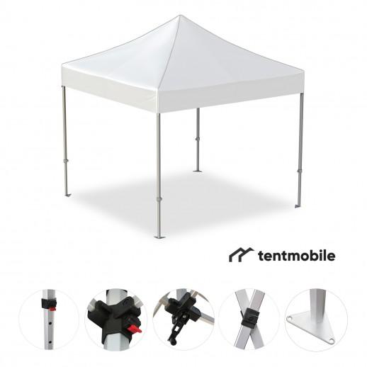Мобильный шатер, 3 х 3 м (X, 40 мм, алюминий)