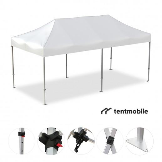 Мобильный шатер, 6 х 3 м (X, 40 мм, алюминий)