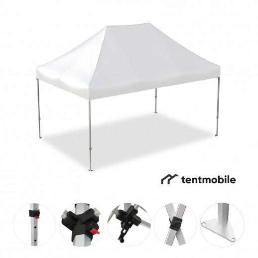 Мобильный шатер, 3 х 2 м (X, 40 мм, алюминий)