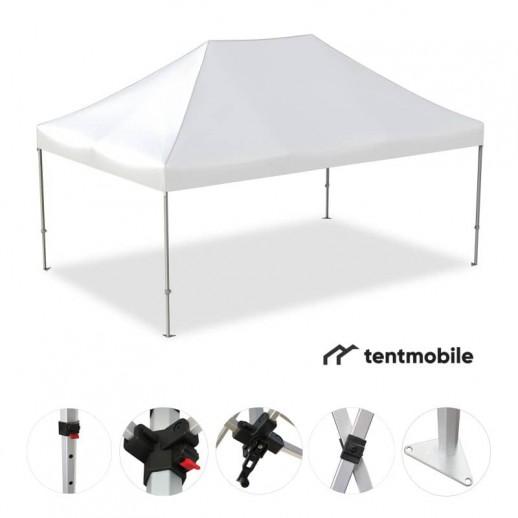 Мобильный шатер, 3 х 4,5 м (X, 40 мм, алюминий)