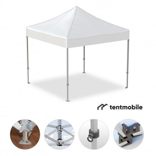 Мобильный шатер, 3 х 3 м (M, 40 мм, алюминий)