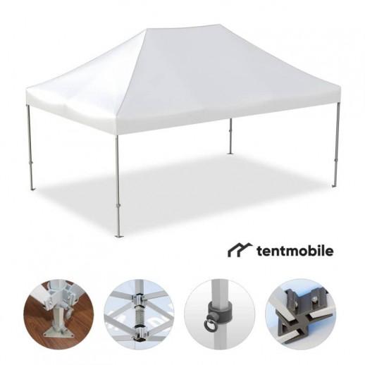 Мобильный шатер, 3 х 4,5 м (M, 40 мм, алюминий)