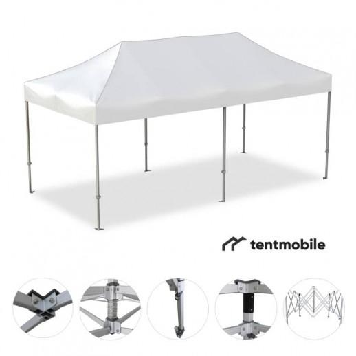 Мобильный шатер, 6 х 3 м (N, 50 мм, алюминий)