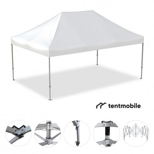 Мобильный шатер, 6 х 4 м (N, 50 мм, алюминий)