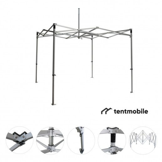 Каркас для шатра, 3 х 3 м (N, 50 мм, алюминий)